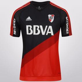 Camiseta River Suplente Negra 2016 - Original