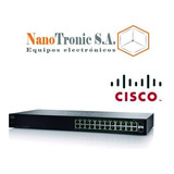 Switch Cisco 24 Puertos Sg110-24hp 12 Poe Gigabit 2sfp