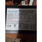 Fuente De Poder Microlab 850 W Para Pc