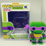 Figura Coleccionable Funko Pop Tortugas Ninja Donatello 8bit