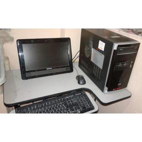 Computador Com Monitor, Teclado, Mouse E Cpu Semp Toshiba