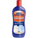 Anil Líquido Colman Branqueador De Roupas 200 Ml