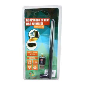 Placa Wireless Usb 300mbps Notebook Ralink Chipset 20 Un