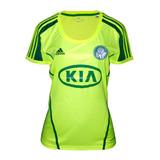 Camisa Do Palmeiras Feminina Verde-limão no Mercado Livre Brasil 09d33d69c3206