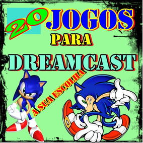20 Jogos Patch Dreamcast Mídia Física ( A Sua Escolha )