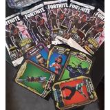 Tarjetas Fortnite 5ta Temporada(deck Con 100 Sobres)