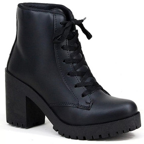 d6337e89fd8 Sapato Preto Fosco Feminino Outros Tipos - Sapatos no Mercado Livre ...