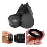 Ojo Pez Lente Gran Angular 0.45x 55mm Sony Nikon