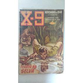 Revista X9 Anos 40 1948 Antigo