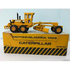 Motoniveladora Arpra Caterpillar 140b 1/50 Metal = Tekno Wsi