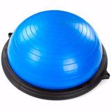 Bosu Meia Bola C  Bomba E Extensores Pilates Fitness 18 836cdd0fc7dc1