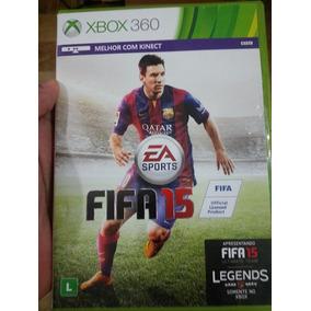 Jogo Fifa 15 Xbox 360 Ntsc Midia Fisica Original