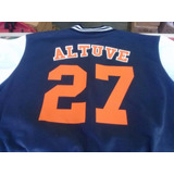 Chamarra Astros De Houston Altuve Azul Marino