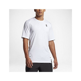 3d6384cc04441 Camiseta Nike Kyrie Irving Dry Branca Masculina Original