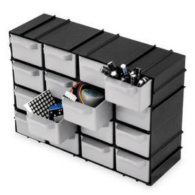 Organizador Gaveteiro 7001 Modulável 16 Gavetas Multiuso