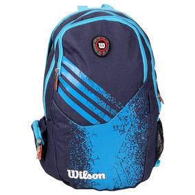 Mochila Esportiva Wilson 22l, Azul, Tam. 28cm X 42cm X 14cm