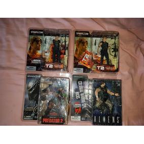 Coleção Spawn Mcfarlane Movie Maniacs - 4 Pcs