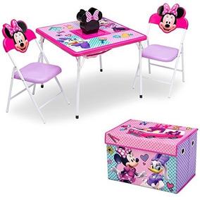 Mesa Y Sillas De Minnie Mouse Caja Juguetes Delta Children