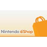 Entrega Inmediata Tarjetas Nintendo Eshop 3ds Wii U Switch