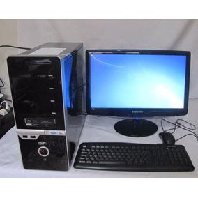 Computador Amd Phenom 9150e Quad Core Com Monitor Lg