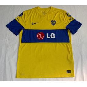 Boca Jrs Nike Dri Fit Suplente Lg Total 2010 Impecable Nueva