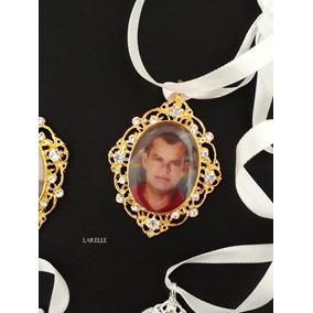 Relicário Personalizado Para Buquê Bouquet, Frete Embutido
