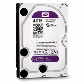 Disco Duro Hdd 3.5 Wd Purpura 4tb Sata3 Intellipower