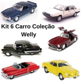 Kit 6 Miniatura Coleção Inesquecível Do Brasil Welly 1/34