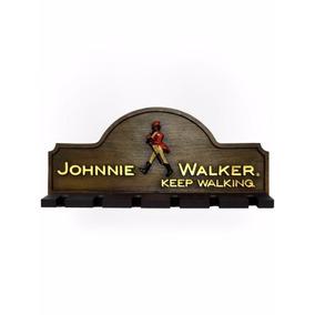Porta Copos, Taças, Decoração, Whisky, Johnnie Walker