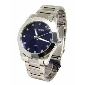 13fa873dcfe Relogio Atlantis Prata Feminino - Relógios no Mercado Livre Brasil