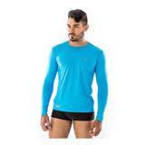 Kit 3 Blusas Masculina Para Futebol Térmicas Proteção Uv
