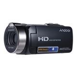 Filmadora Andoer Hdv-312p Full Hd Brinde Iluminador 96 Leds