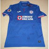 Jersey Joma Loc Cruz Azul Firmado Equipo Actual 2019 Coa