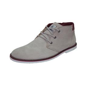 Bota Casual Couro Shoes Grand Camurça Frete Grátis