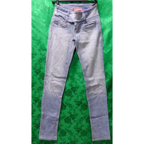 b32557827 Calça Feminina Jeans Desbotado Marca Dooplex Cós Baixo  36