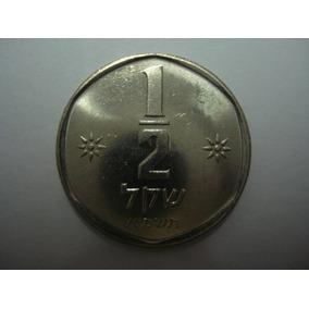 (c661 ) Israel Moeda 1/2 Shequel 1981 (20mm)