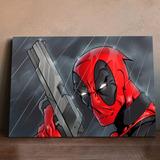 Murales De Comics Deadpool Posters 60x40 Super Héroes Marvel