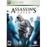 Jogo Mídia Física Assassins Creed 1 Para Xbox 360
