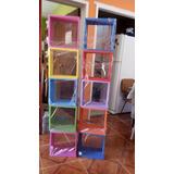 Cubos Repisas Varios Colores Para Cuarto De Niños