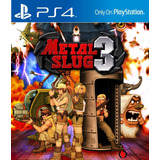 Metal Slug 3 Ps4 Sec Lgames