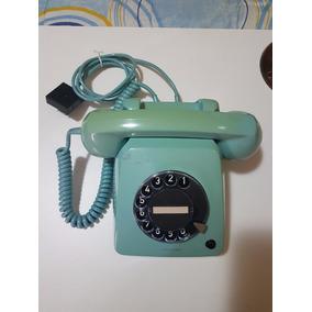 Telefone Antigo Siemens, Verde Modelo Disco H 70