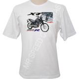 Camiseta Motocicleta Yamahard Xt 660r Preta