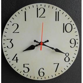 ededef54545 Relógio De Parede Com Horario Mundial - Relógios no Mercado Livre Brasil