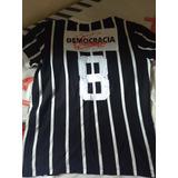 Camiseta Retro Corinthians  Socrates no Mercado Livre Brasil 6a8066360d822
