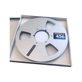 Carretel Ampex 456 10.5 P/ Fita De 1/2 Teac, Tascam, Revox