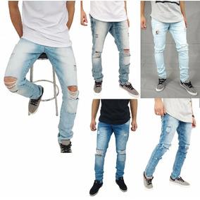 f24b3b79f96cb Calça Jeans Masculina Rasgada - Calças Calvin Klein Calças Jeans ...