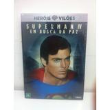Dvd Superman 4 - Em Busca Da Paz [ Lacrado ] Edição Especial