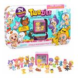 Twozies Pack X24 Bebes Con Mascotas Orig. Intek Mundo Manias
