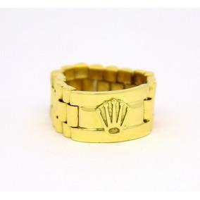 e5a092d0489 Anel Rolex Ouro Amarelo 18k - Joias e Relógios no Mercado Livre Brasil