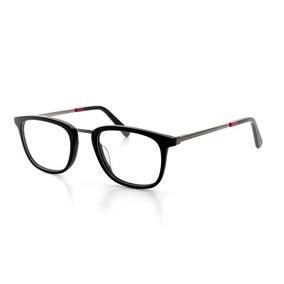 Óculos De Grau Cannes 3393 T 50 C 1 Masculino Casual Preto 21c0bf7280